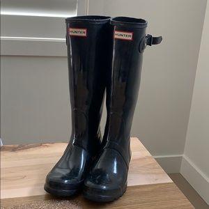 Hunter Original Boots - Black Size 7